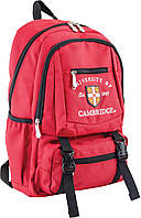 Ранец подростковый Cambridge CA 079 красный 554030 YES