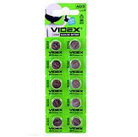 Батарейки AG13/LR44, Videx Excellent!, 10 шт, Blister