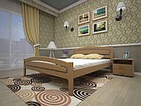 Кровать Тис Модерн 2, сосна, 140х200см. Бесплатная адресная доставка по Украине.