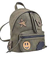 Сумка-рюкзак Yes Weekend хаки 553985 YES