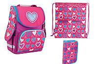 Набор Smart 1 Вересня  рюкзак 553320, пенал 531346, сумка 553589