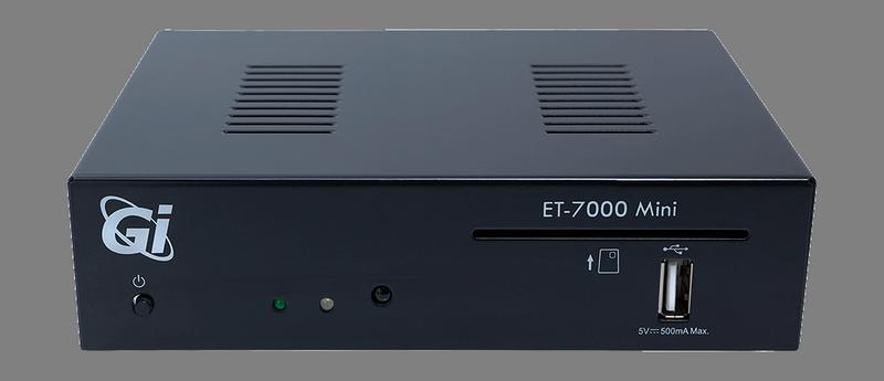 Супутниковий HD ресивер GI ET7000 Mini