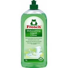 Акція -15% Средство для мытья посуды Frosch Зеленый Лимон, 5л