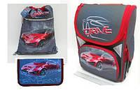 """Набор ранец ортопедический """"Drive"""" JO-1724 пенал JO-17243 сумка для обуви  JO-17241"""
