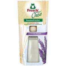Акція -20% Освежитель воздуха с натуральным маслом Frosch Oase Лаванда, 90мл