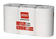 Туалетная бумага Fesko Professional M, 500 листов, 6 рулонов