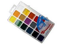 Краски акварельные Гамма Чудо-Краски 18 цветов чудо-краски