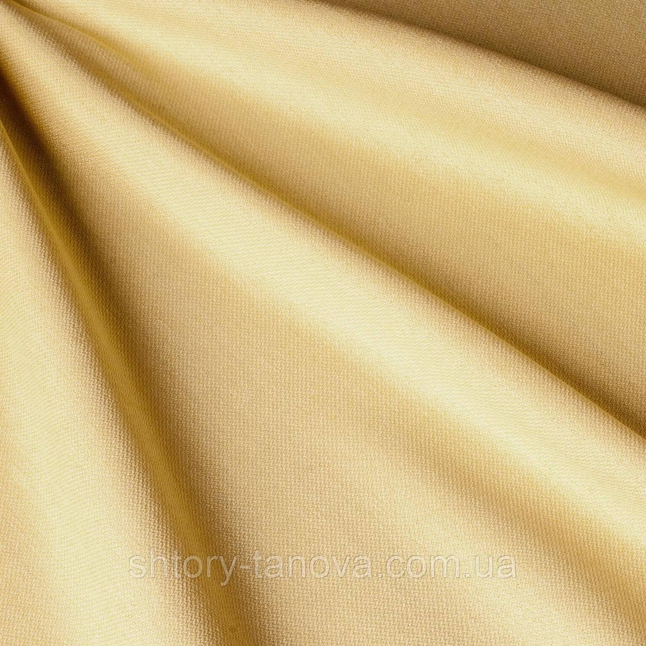 Дралон однотонный с тефлоновым покрытием, песочный
