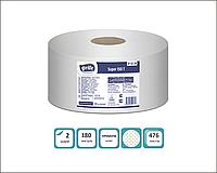 Grite папір туалетний Джамбо преміум 100% целюлоза 150 м