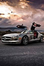 Диски и шины на Mercedes Benz SLS-Class C 197