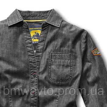 Женская рубашка BMW Motorrad Ladies Roadster Shirt, Grey Denim , фото 2