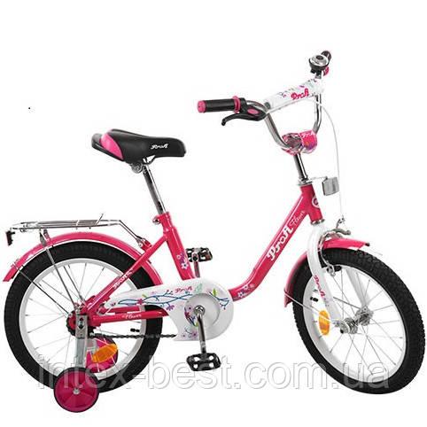 """Велосипед Profi 18"""" Flower Малиновый (L1882)"""
