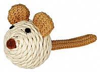 Игрушка Trixie Mouse для кошек из сизаля, 5 см