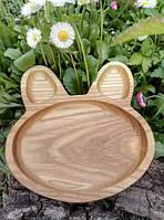 Деревянная посуда для детей.Детская менажница