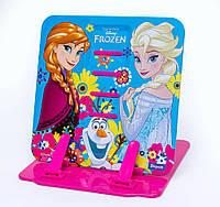 """Подставка для книг цветная металлическая 1 Вересня """"Frozen"""" 470404"""