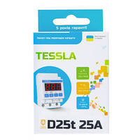 Tessla D25t - реле напряжения 25А 5,5кВт с термозащитой