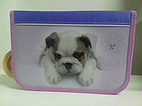 Пенал CLASS Lovely Pets арт.95026, 1 молния, 2 отворота, ПУСТОЙ CLASS