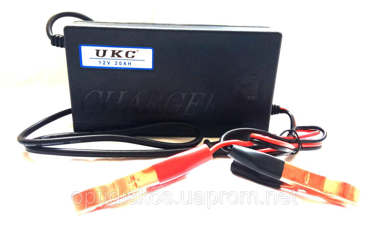 Зарядное устройство для аккумуляторов UKC Battery Charger 12V, 1.8A