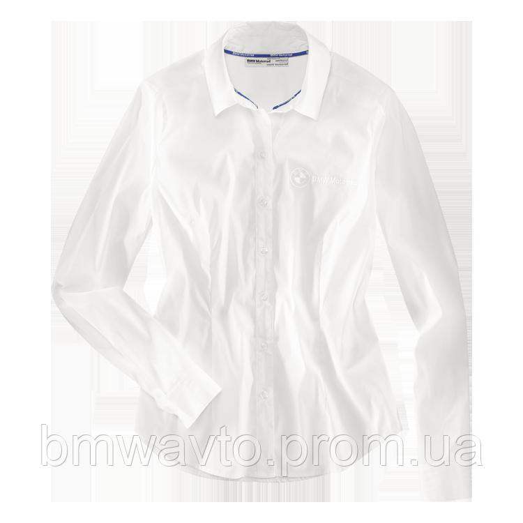 Женская блузка BMW Motorrad Ladies Logo Blouse, White , фото 2