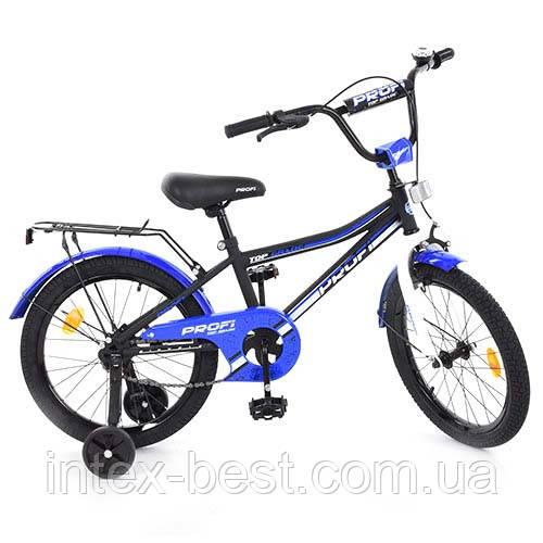 """Велосипед Profi Top Grade 18"""" Черно-синий (L18101)"""