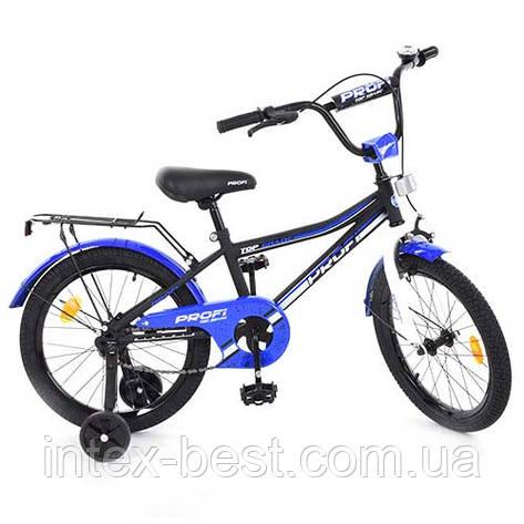 """Велосипед Profi Top Grade 18"""" Черно-синий (L18101), фото 2"""