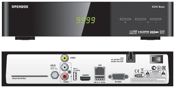 Супутниковий HD ресивер Openbox SX4C HD Base
