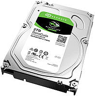 Жесткий диск 2Tb Seagate BarraCuda, SATA3, 64Mb, 7200 rpm (ST2000DM006)