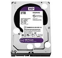 Жесткий диск 2Tb Western Digital Purple, SATA3, 64Mb, 5400 rpm (WD20PURZ)
