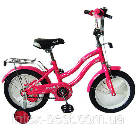 "Велосипед Profi Star 14"" Малиновый (L1492)"