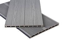 Террасная доска Polymer & Wood Приват Дуб серый