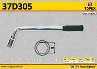 Ключ балонный телескопический,  TOPEX  37D305