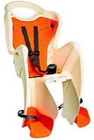 BELLELLI B1 Standart Дитяче велосипедне крісло SAD-25-B4 беж\помаранч
