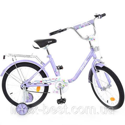 """Велосипед Profi Flower 14"""" Фиолетовый (L1483)"""