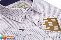 Школьная рубашка для мальчика Kniazhych Corsica