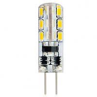 Лампа  LED 1,5W G4 силікон 2700/6400K 220-240V