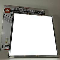 Светильник светодиодный PANEL 36W 595х595х9mm 6400К/4000К LED-SH-600-20 Евросвет