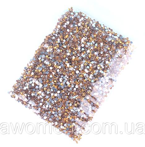 Камни 1,8 мм 10000 штук в упаковке (золотые)