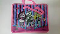 Папка с тканевыми ручками Мультяшки (для девочек) Monster High