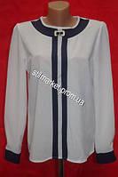Нарядная блуза белая для девочки