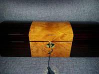 Деревянная шкатулка для часов Salvadore на 6 отделений TG807-6YEC