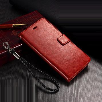 """ONE+ PLUS 2 TWO оригинальный кожаный чехол книжка с карманами НАТУРАЛЬНАЯ ТЕЛЯЧЬЯ КОЖА на телефон """"LUXON"""""""