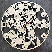 Детские настенные часы «Микки Маус»
