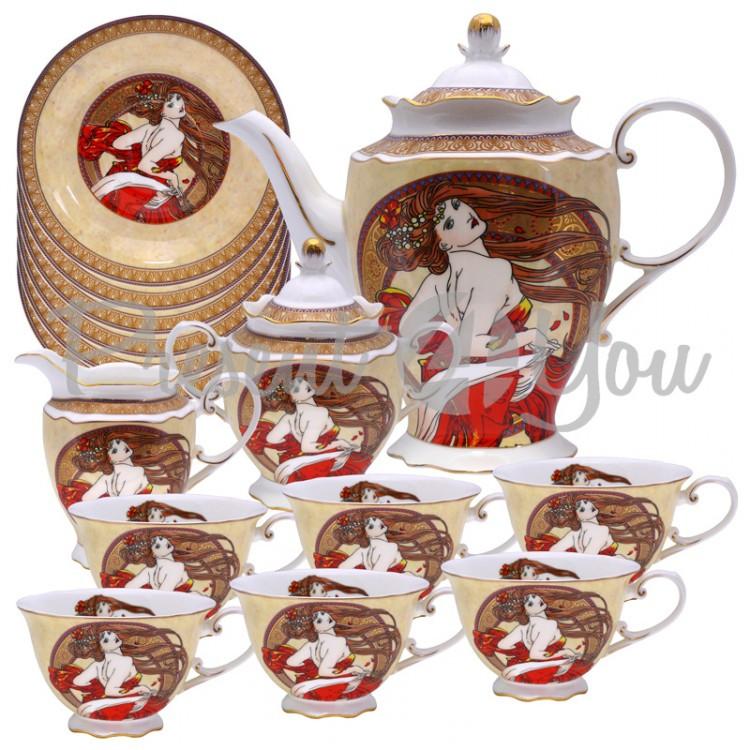 Сервиз чайный «Танец» (15 частей)