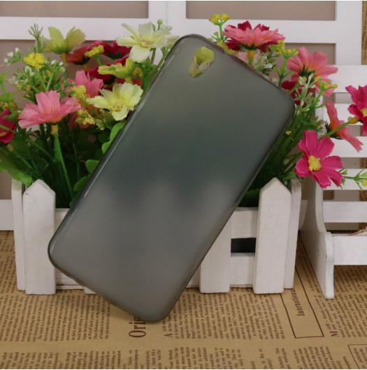 Силиконовый чехол для S-TELL M621 черный прозрачный