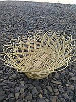 Плетеная хлебница из тонкой лозы, фото 1
