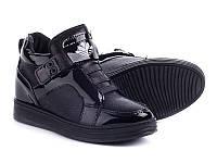Женская демисезонная обувь оптом. Женские ботинки -сникерсы от производителя Violeta 20-286 Black (8пар,36-41)