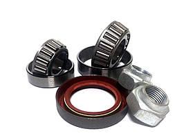 Р\к ступицы ВАЗ 2101-07 передней (подшипник внутренний+наружный+сальн.+гайки левые+правые) (Волжский Стандарт)