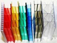 Сотовый поликарбонат Berolux цветной 6мм (Лист 2,1м х 6м), фото 1