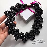 """Ожерелье """"Лаура"""" чёрного цвета, в красивой упаковке."""