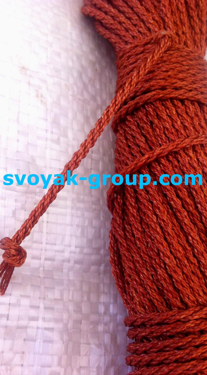 Мотузка кордова крученная - 3 мм/25 м.
